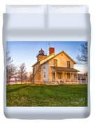 Sodus Point Lighthouse And Museum Duvet Cover