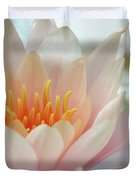 Soft And Delicate Water Lily Duvet Cover