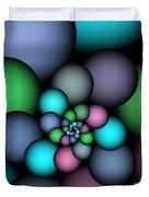 Soft Balloons Duvet Cover