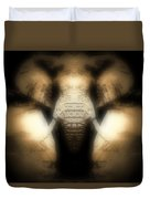Soft Brown Elephant Duvet Cover