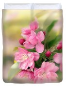 Soft Apple Blossom Duvet Cover