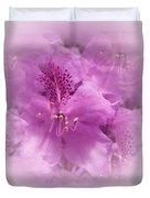Soft Edged Floral Duvet Cover
