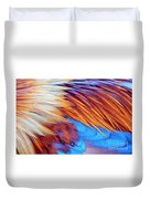Soft Feather Palette Duvet Cover