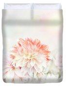 Soft Focus Floral Background Duvet Cover
