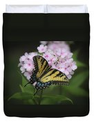 Soft Focus Tiger Swallowtail Duvet Cover