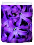 Soft Hyacinth Duvet Cover