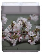 Soft Pink Blossoms Duvet Cover