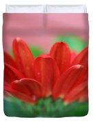 Soft Red Duvet Cover