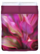 Soft Red Ti Duvet Cover