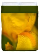 Softly Yellow Duvet Cover