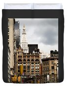 Sohmer Piano Building And Flatiron District  Duvet Cover