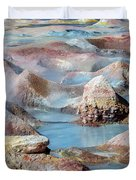 Sol De Manana In Bolivia Duvet Cover