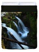 Sol Duc Falls 3 Duvet Cover