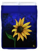 Sol Flower Duvet Cover