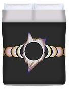 Solar Eclipse, 25 Duvet Cover