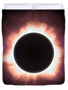 Solar Eclipse In Infrared 2 Duvet Cover