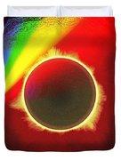 Solar Eclipse Spectre Duvet Cover