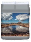 Solar Landscape Duvet Cover