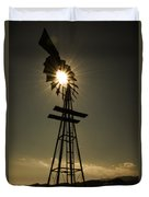 Solar Meets Wind Duvet Cover by Barry C Donovan