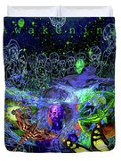 Solar Soul Awaken Duvet Cover