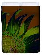 Solar Sunflower Duvet Cover