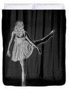 Solarized Dancer Duvet Cover