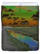Solarized Sky Duvet Cover