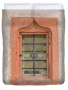 Soldatenbau Window Duvet Cover