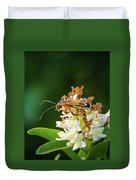 Soldier Beetle Duvet Cover