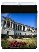 Soldier Field Chicago Bears Stadium Duvet Cover by Paul Velgos