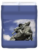 Soldier In The Boer War Duvet Cover