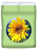 Solid Sunshine Duvet Cover