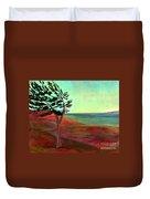 Solitary Pine Duvet Cover
