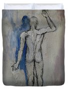 Solitude And Existence Duvet Cover