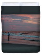 Solitude At Sunrise Duvet Cover