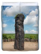 Solstice Celebrations - Menhir Stone Shepherd Duvet Cover