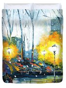 Solstice In The City, Vol.1 Duvet Cover