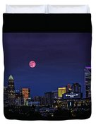 Solstice Strawberry Moon Charlotte, Nc Duvet Cover