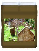Somber Granite Duvet Cover