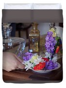 Some Floral Tea? Duvet Cover