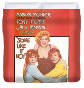 Some Like It Hot Duvet Cover by Georgia Fowler