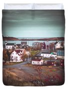 Some Town Duvet Cover