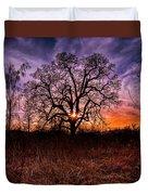 Somenos Oak Duvet Cover