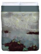 Someone Behind The Clouds Duvet Cover