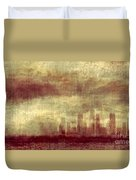 Someone To Hold You Beneath Darkened Sky Duvet Cover