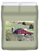 Somerset County Farm Duvet Cover