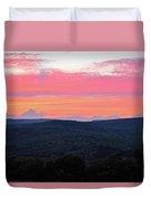 Somerset Sunset Horizontal Duvet Cover
