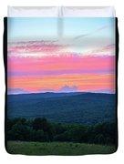 Somerset Sunset Vertical Duvet Cover