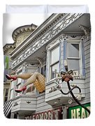 Something To Find Only The In The Haight Ashbury Duvet Cover