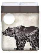 Something Wild Bear Duvet Cover